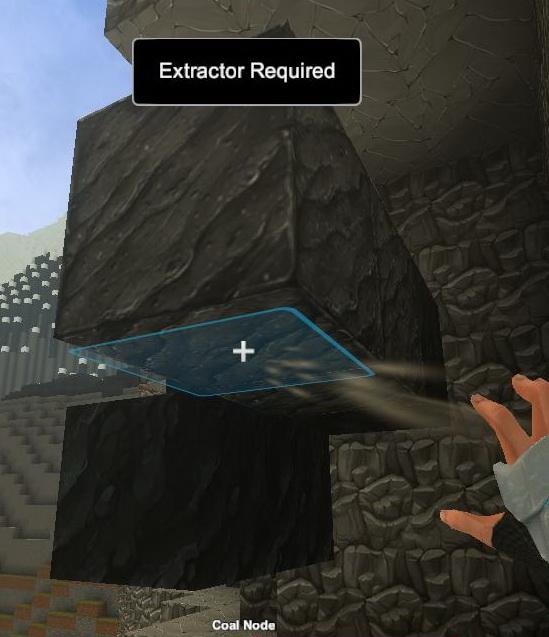 Creativerse Obsidian Coal Extractor needed02