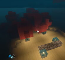 Creativerse Driftwood and Coral on Ocean floor00001
