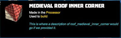 Creativerse R41,5 corners for roofs tooltips 537