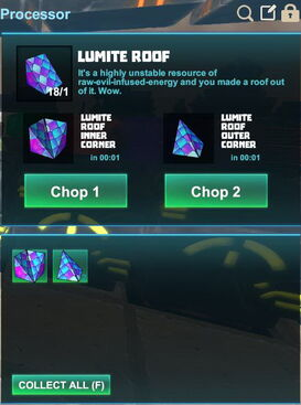 Creativerse R41,5 processing corners for roofs 520