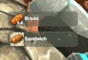 Creativerse unlock R22 Bread Sandwich3833