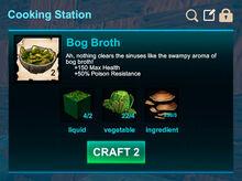 Cooking station-Soup-Bog broth-R50