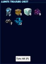 Lumite treasure chest loot