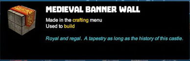 Creativerse R41 colossal castle medieval banner wall tooltip01
