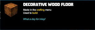 Creativerse tooltips R40 006 wood blocks crafted