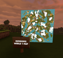 Creativerse Ponpon1000 world maps made with arc signs00222