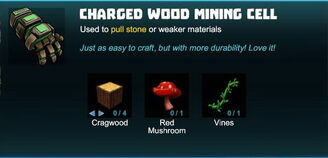 Creativerse charged wood mining cell 2018-08-26 10-34-33-28