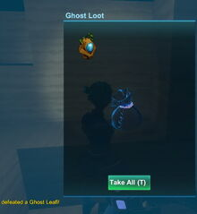 Creativerse haunted idol in ghost loot bag 2018-10-26 21-11-36-98