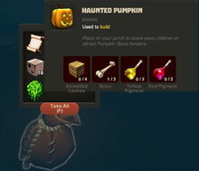 Creativerse Halloween finds034 Haunted Pumpkin