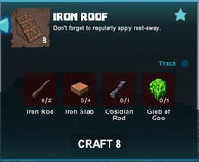 Creativerse crafting recipes roofs R41,5 11