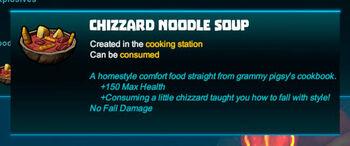 Bubble tip-Soup-Chizzard noodle soup-R50