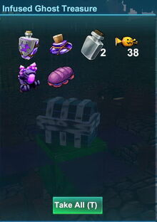 Creativerse idol event reward corrupted sandwich 2018-11-12 16-33-20-22 infused ghost treasure