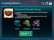 Cooking station-Soup-Chizzard noodle soup-R50