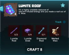 Creativerse crafting recipes roofs R41,5 07