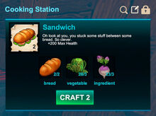 Cooking station-Sandwich-Sandwich-R50