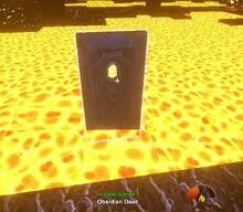 Creativerse door does not burn 2017-09-05 15-09-25-59 door heat test