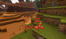 Creativerse red mushrooms next to canyons 2018-10-01 02-38-04-22