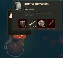 Creativerse Halloween finds036 Haunted Gravestone