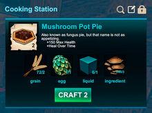 Cooking station-Pie-Mushroom pot pie-R50
