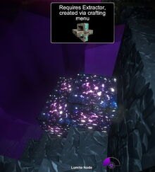 Creativerse lumite node requires extractor 2017-09-05 16-02-28-23
