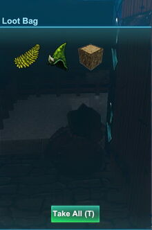 Creativerse weepwood flower and wood dropped by mossy leafi 2017-12-30 18-46-54-17 mossy leafi loot