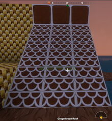 Creativerse Gingerbread Roof787