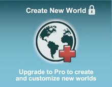 Creativerse Create new world Blocked R54.5
