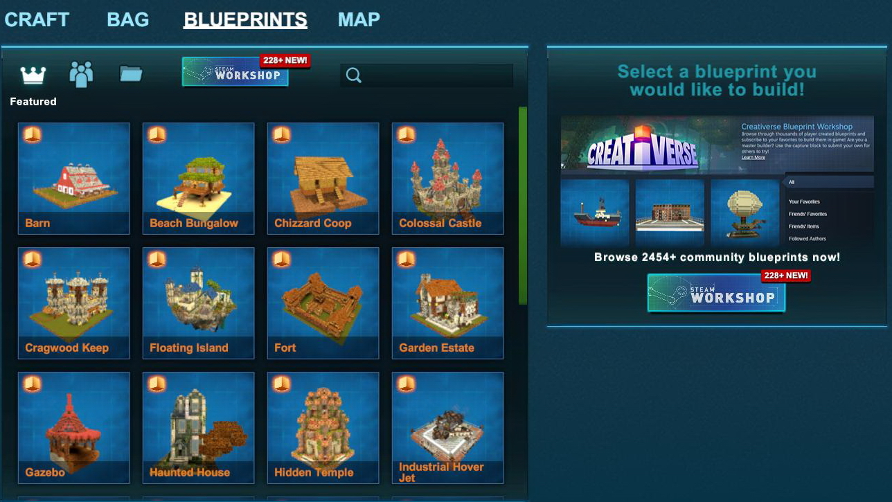 Blueprint creativerse wiki fandom powered by wikia creativerse blueprints main screen 2017 07 28 15 37 45 58 malvernweather Image collections