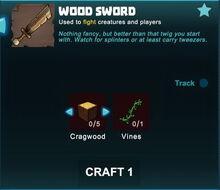 Creativerse sword crafting recipe 91