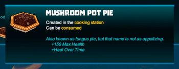 Bubble tip-Pie-Mushroom pot pie-R50