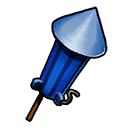 Firework Blue