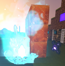 Creativerse Mob spawning in front of wall01