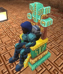 Creativerse X hidden temple throne663