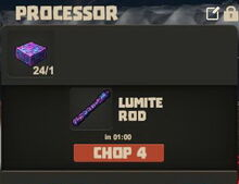 Creativerse Lumite slab and rod01
