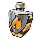 Potion Shield Fire