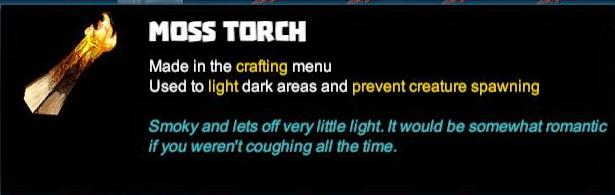 Moss Torch