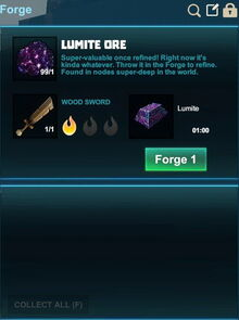 Creativerse forge lumite wood sword 2017-08-14 21-55-49-35