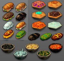 Creativerse Food2 overview