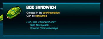 Bubble tip-Sandwich-Bog sandwich-R50