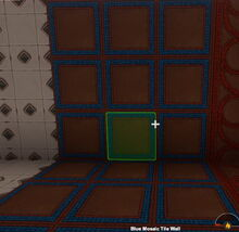 Creativerse Blue Mosaic Tile Wall rotated7010