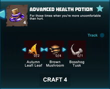 Creativerse R41 crafting recipes advanced health potion01