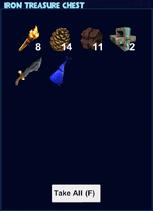 Iron treasure chest loot
