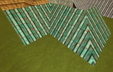 Creativerse R41,5 Roofs with inner and outer corners 55