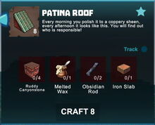 Creativerse crafting recipes roofs R41,5 16