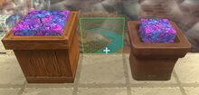 Creativerse Flower Pot Wood Planter Lumite Slab001