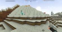 Creativerse Frozen desert with Pebble1001