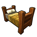 Bed Wood Yellow