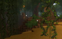Creativerse Vines in the jungle
