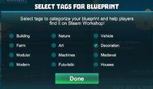 Creativerse blueprint tags 2017-09-11