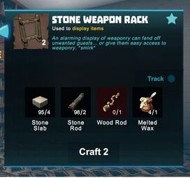 Craft rack